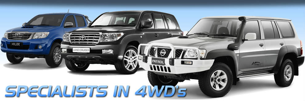 Specialists In 4WD's