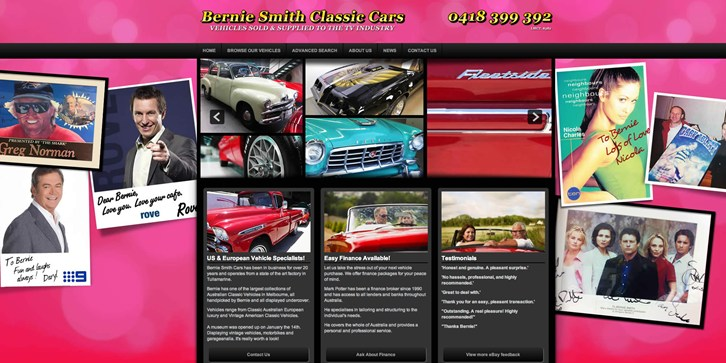 New Website Launched for Bernie Smith Cars!