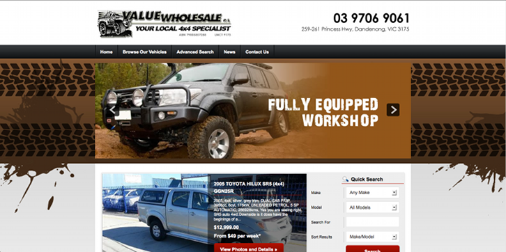 New Website Launched for Value Wholesale!