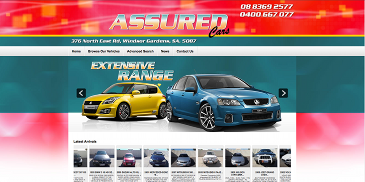New Website Launched for Assured Cars!