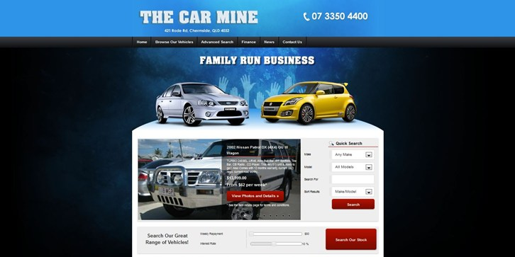 New Website Launched for The Car Mine!