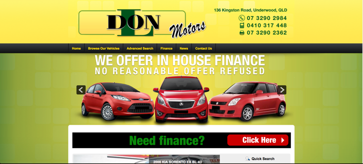 New Website Launched for Don L Motors!