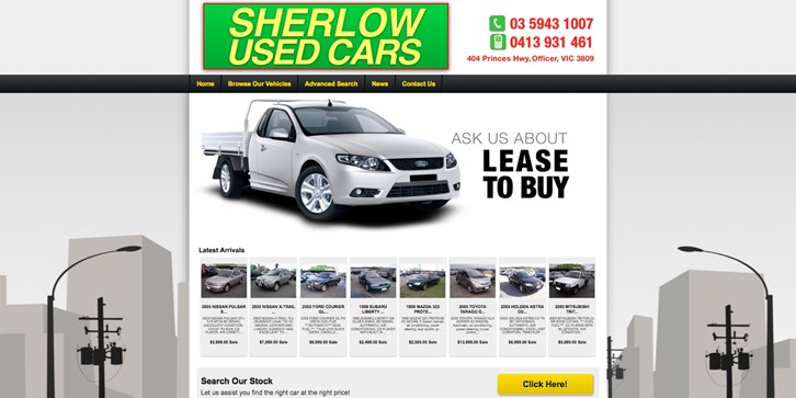 New Website Launched for Sherlow Used Cars!
