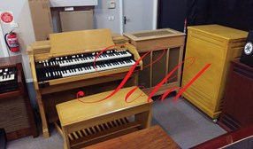 Hammond C-3 Console Organ PR40 and Leslie 122RV Speaker tone Cabinet