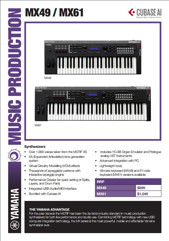 Stage Pianos / Synthesizers / PA Systems | Prestige Pianos and