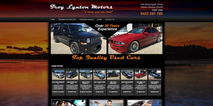 New Website Launched for Troy Lynton Motors!