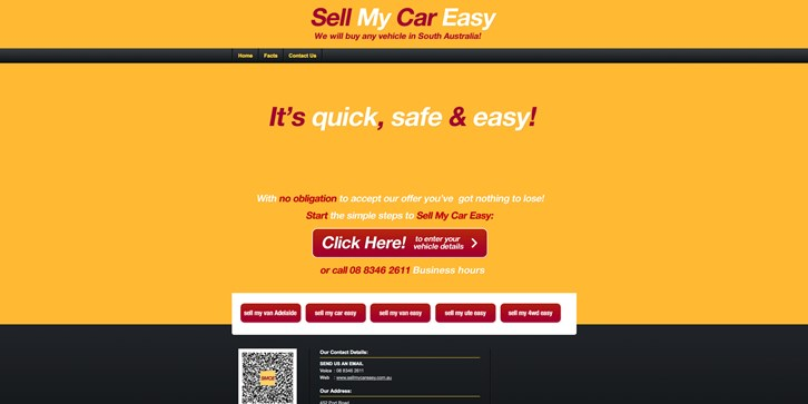 New Website Launched for Sell My Car Easy!