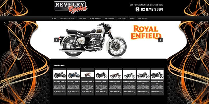 New Website Launched for Revelry Cycles!