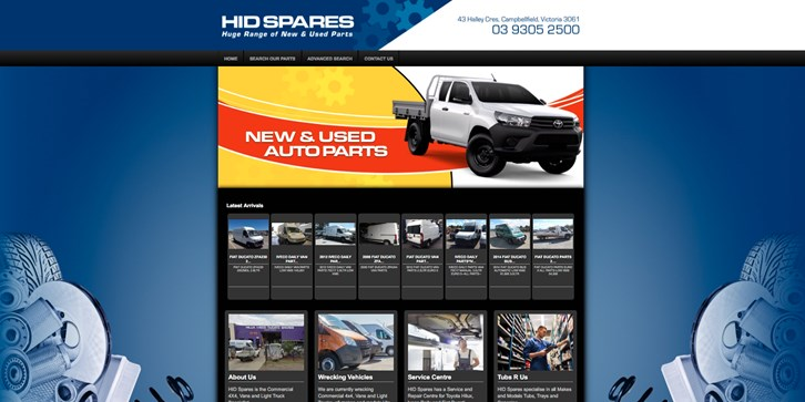 New Website Launched for HID Spares!