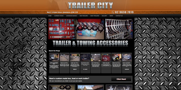 New Website Launched for Trailer City!