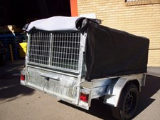 small size galvanised box trailers in Sydney