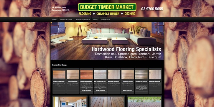 New Website Launched for Budget Timber Market!