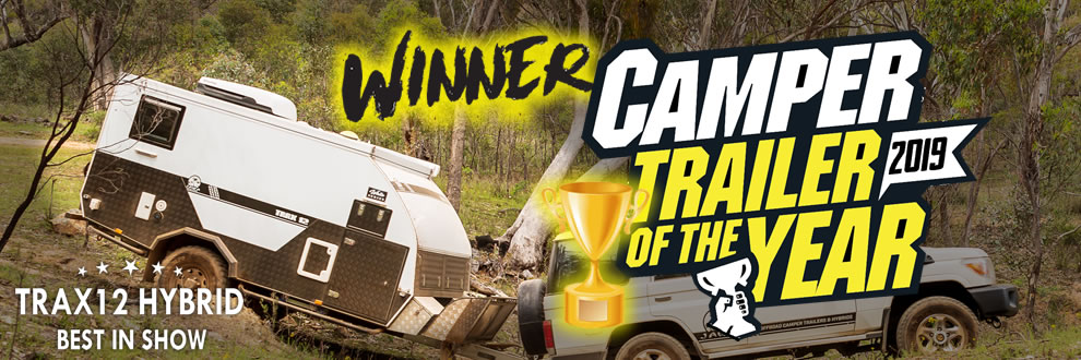 Camper Trailer of the year Winner