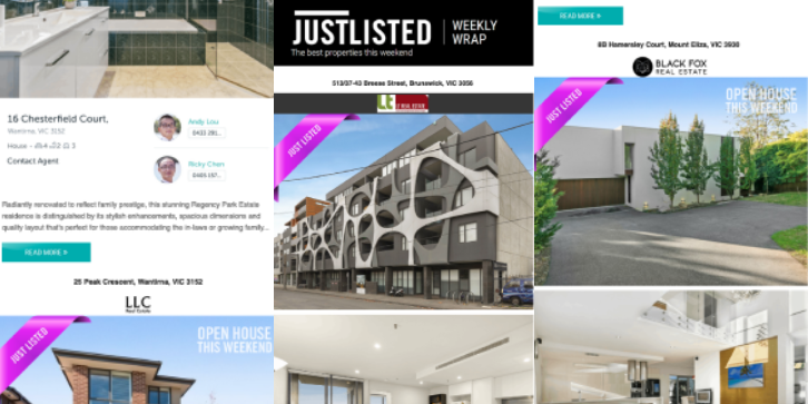 JUSTLISTED Property Wrap, 31st May 2019, Issue #9