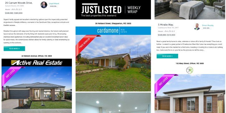 JUSTLISTED Property Wrap, 3rd October 2019, Issue #27