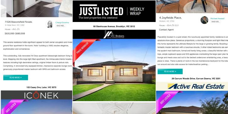JUSTLISTED Property Wrap, 17th October 2019, Issue #29