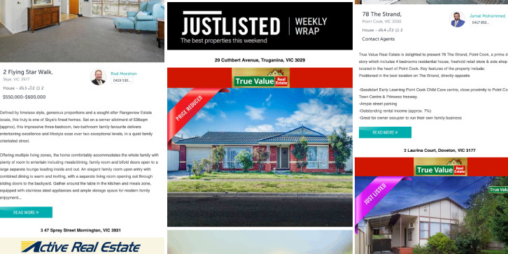 JUSTLISTED Property Wrap, 31st October 2019, Issue #31