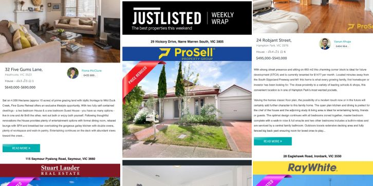 JUSTLISTED Property Wrap, 29th Nov 2019, Issue #35