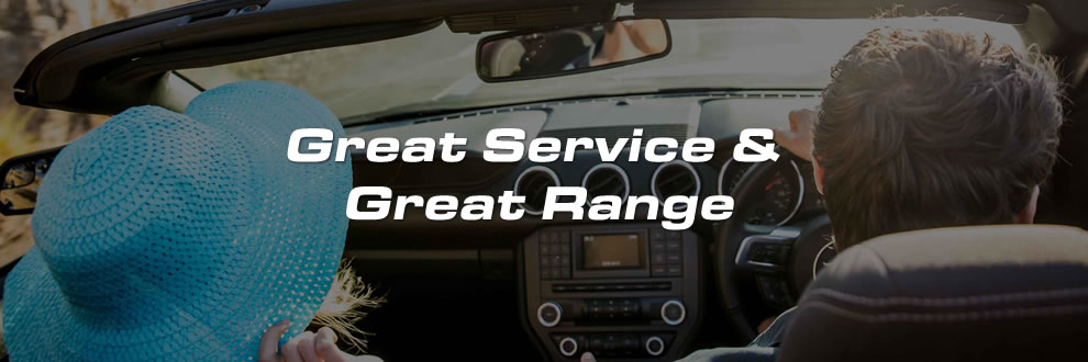 Great Service Great Range