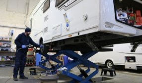 great range of quality used caravans