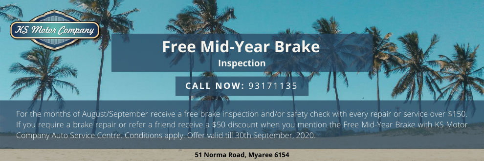 Mid-Year Brake Inspection